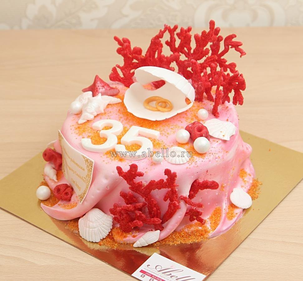 Торт на 35 летие свадьбы фото