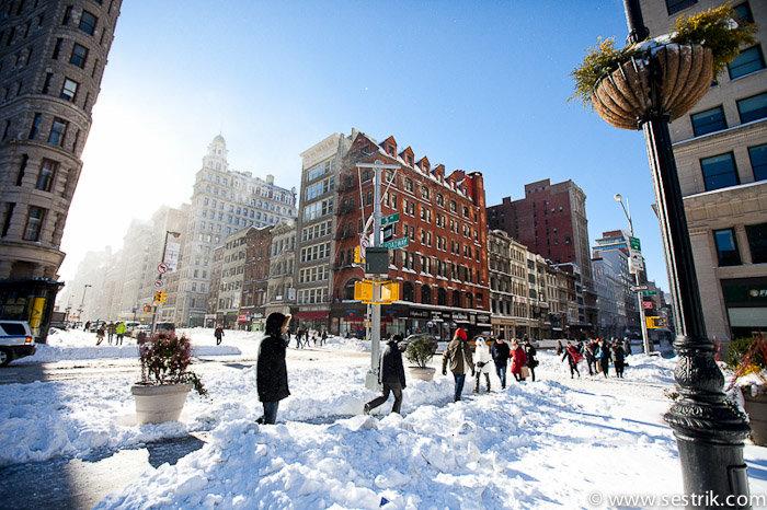 Погода в нью йорке в новый год