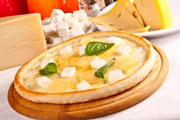 Пицца 4 сыра классический