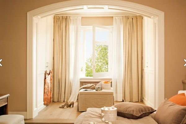 Фото шторы в интерьере комнаты