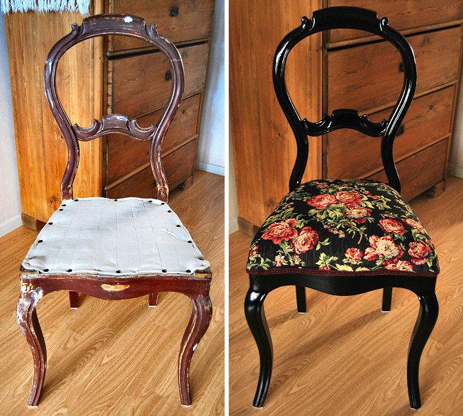 Реставрация стула своими руками мастер класс фото 3