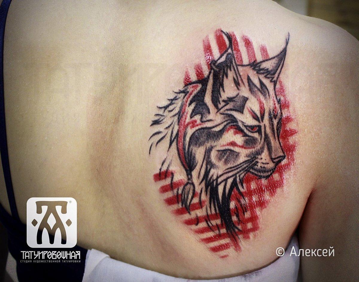 Фото татуировок с рысью