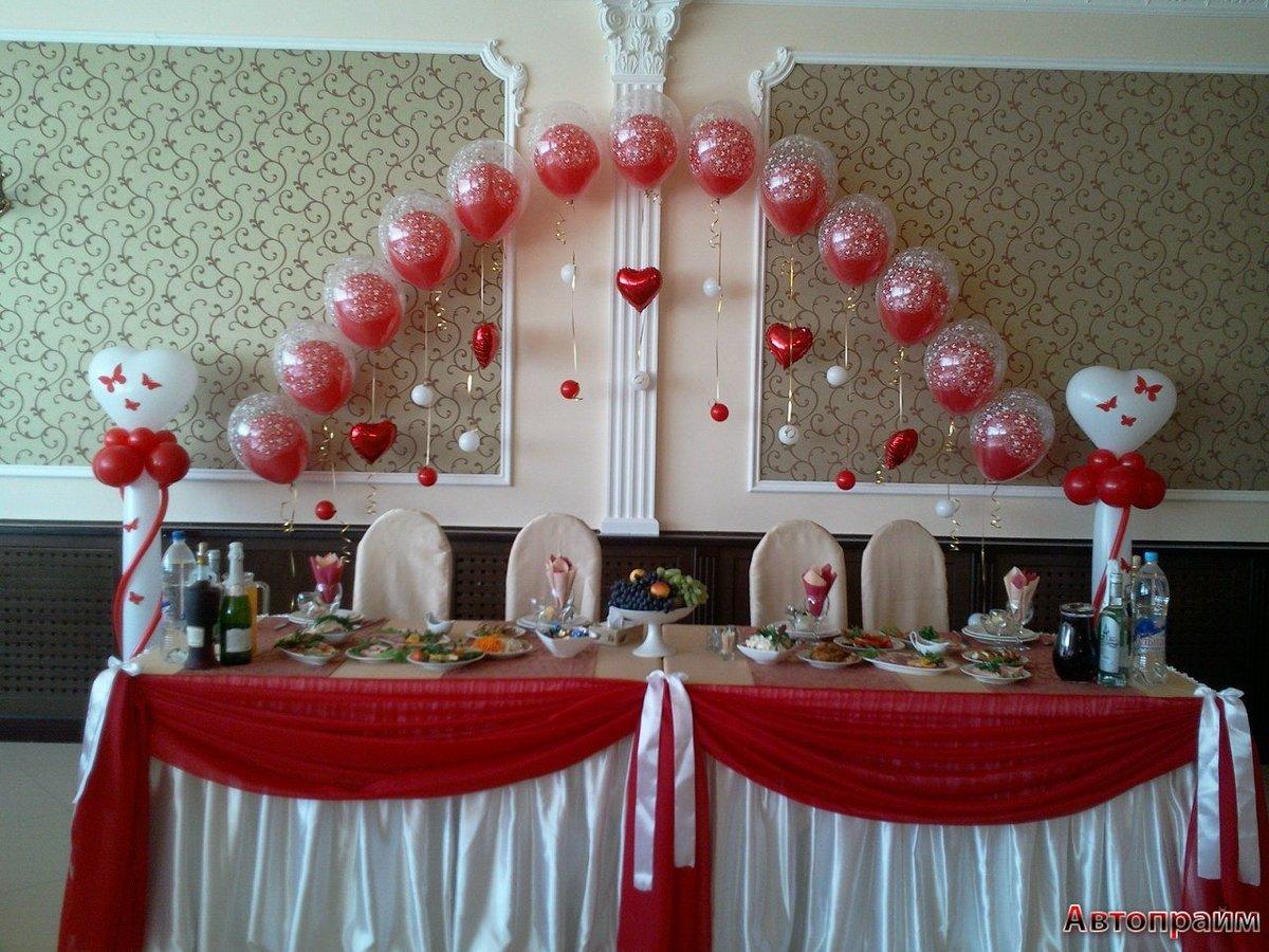 Свадьба украшение шарами фото