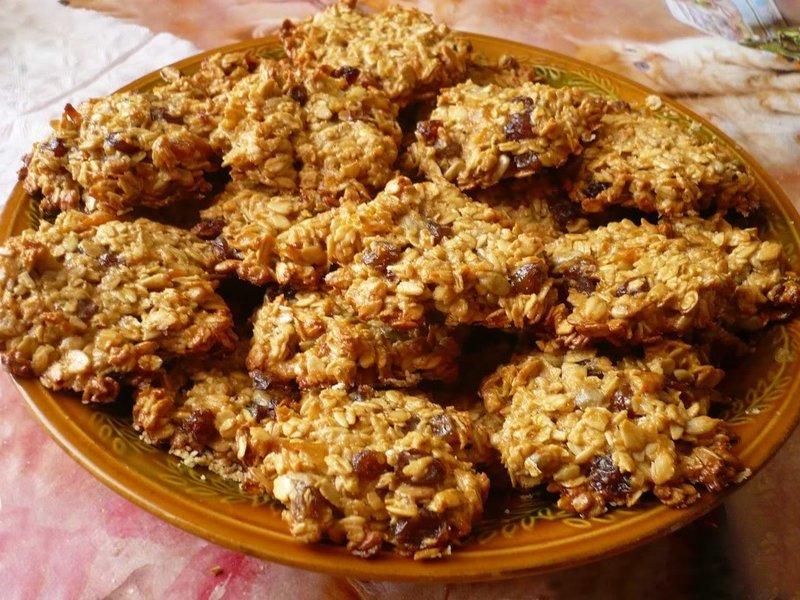 Овсяное печенье рецепт в домашних условиях из овсяной муки
