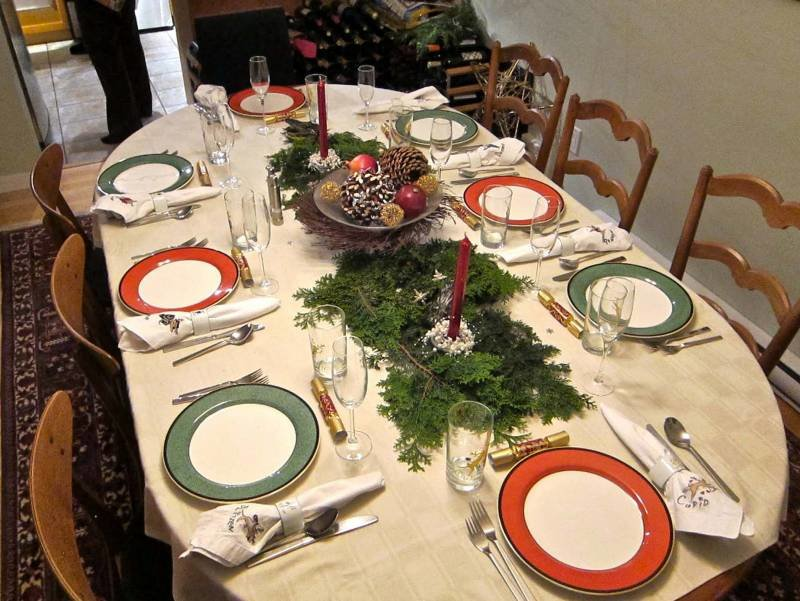 Красиво сервировать стол в домашних условиях 819