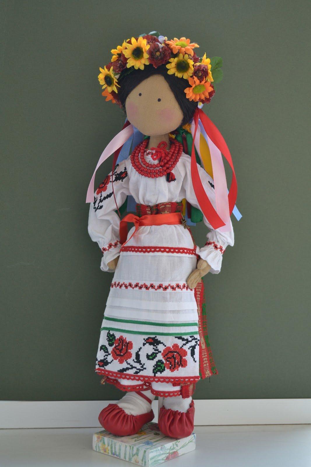 Куклы в национальных костюмах своими руками выкройки
