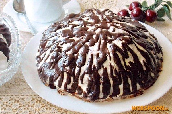 Торт санчо панчо с вишней пошаговый рецепт с фото