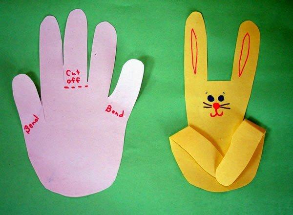 Поделка из бумаги легкие детские