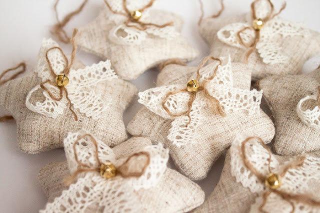 Новогодние игрушки своими руками в винтажном стиле