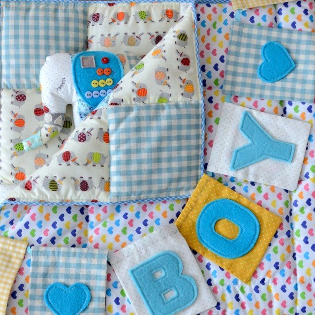 Как сшить одеяло для новорожденного своими руками с фото