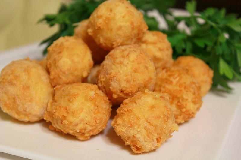 сырные шарики соусом рецепт фото