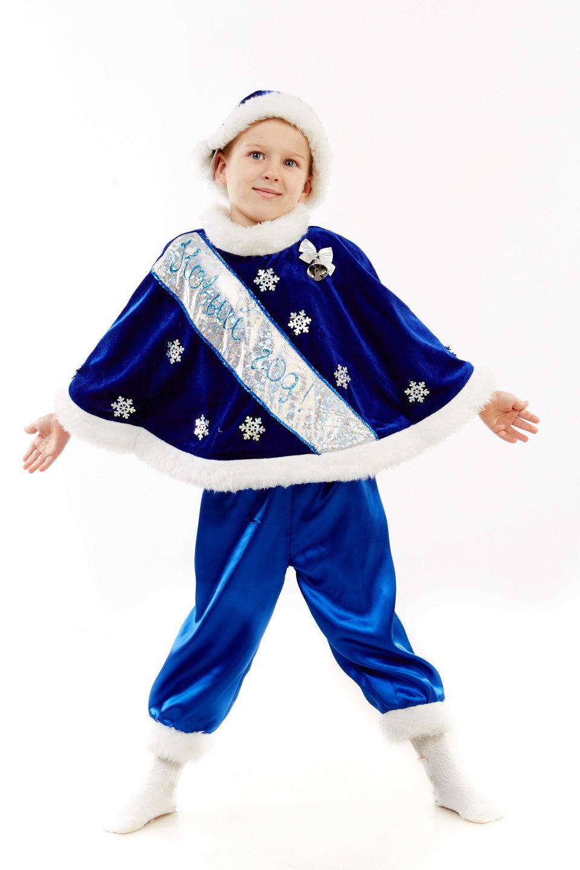 Как пошить новогодний костюм для мальчика своими руками
