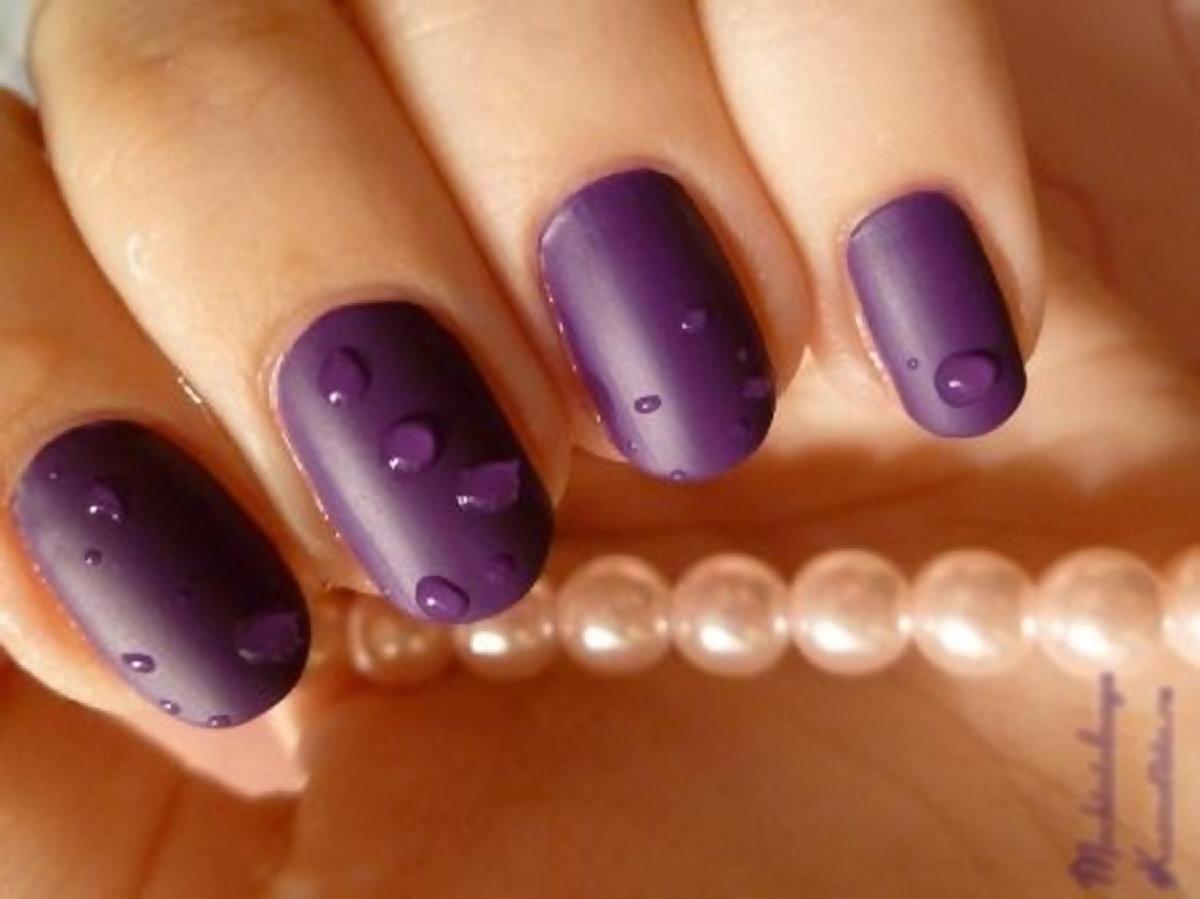 Гель-лак на коротких ногтях фото с матовым дизайном