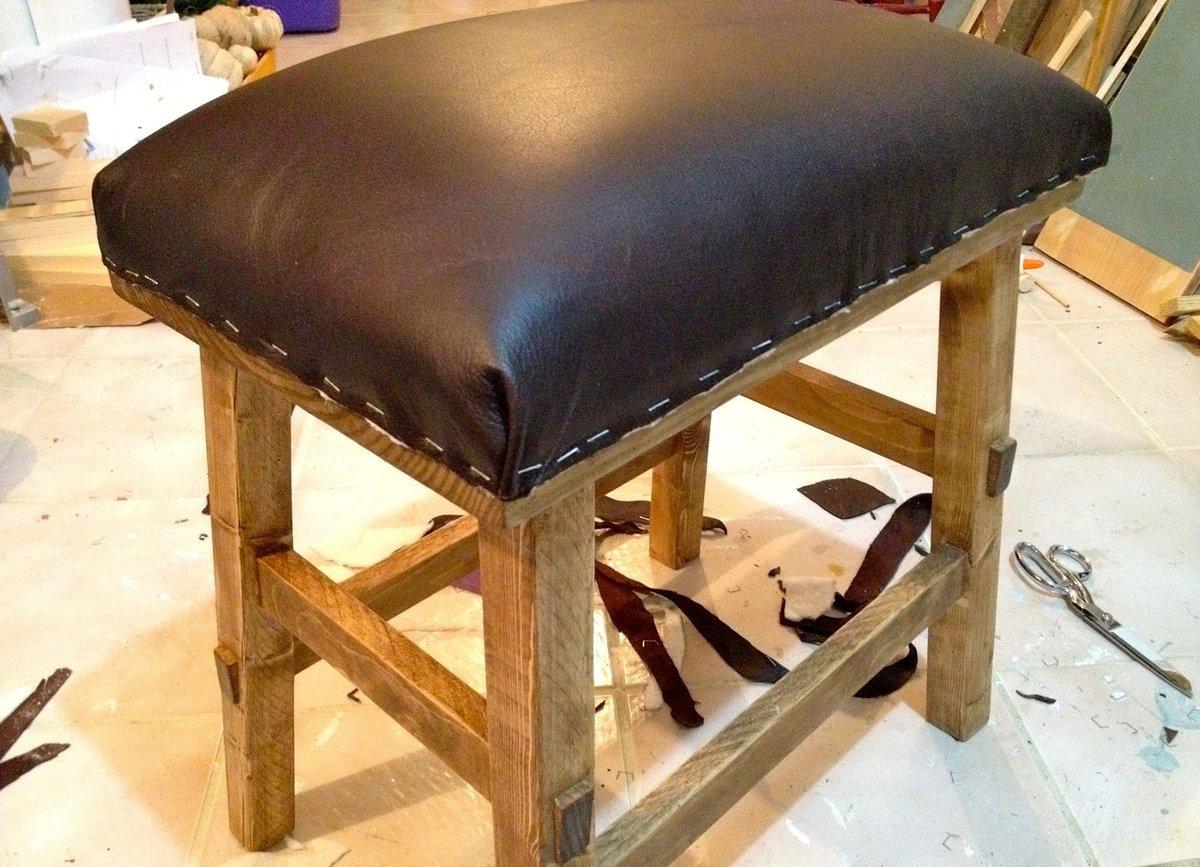 Как сделать мягкую сидушку на кресло