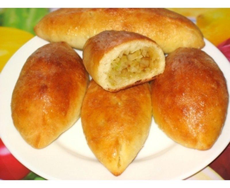 Пирожки печеные с капустой рецепт