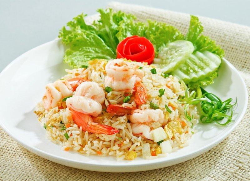 Салаты из креветок с рисом рецепты с