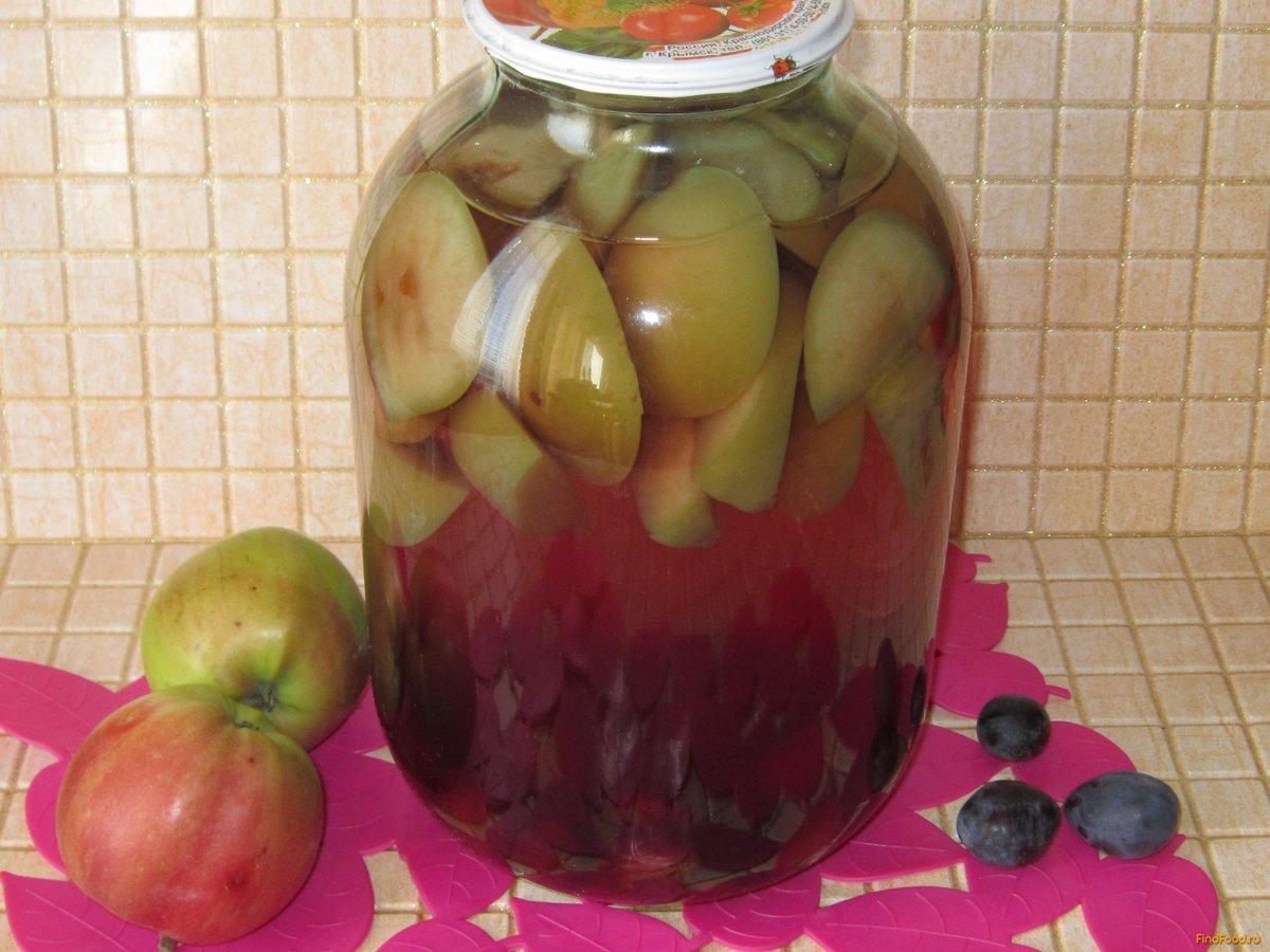 Как сделать как сварить компот из яблок