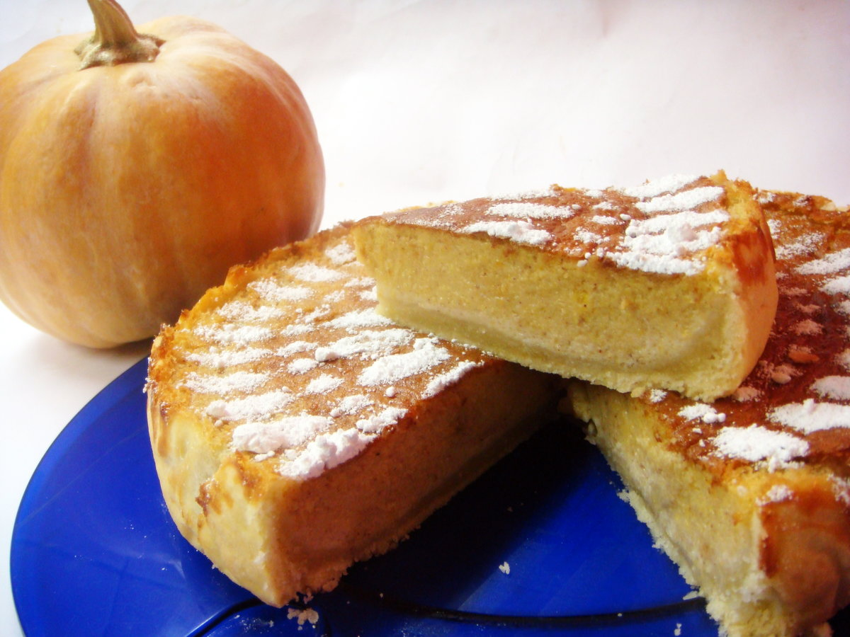 Торт из тыквы рецепты быстро и вкусно