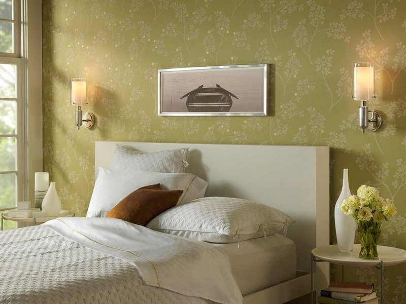 Бра в спальню дизайн
