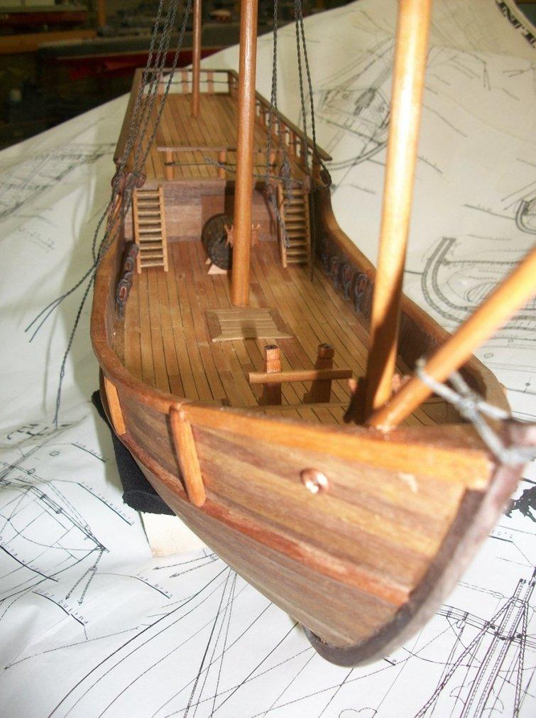 Как сделать парусный корабль из дерева своими руками 47