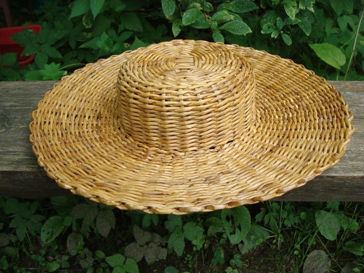 Как сплести шляпку своими руками