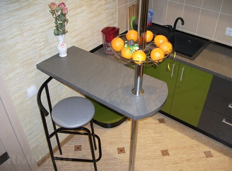 Барные стойки для кухни своими руками для маленькой кухни