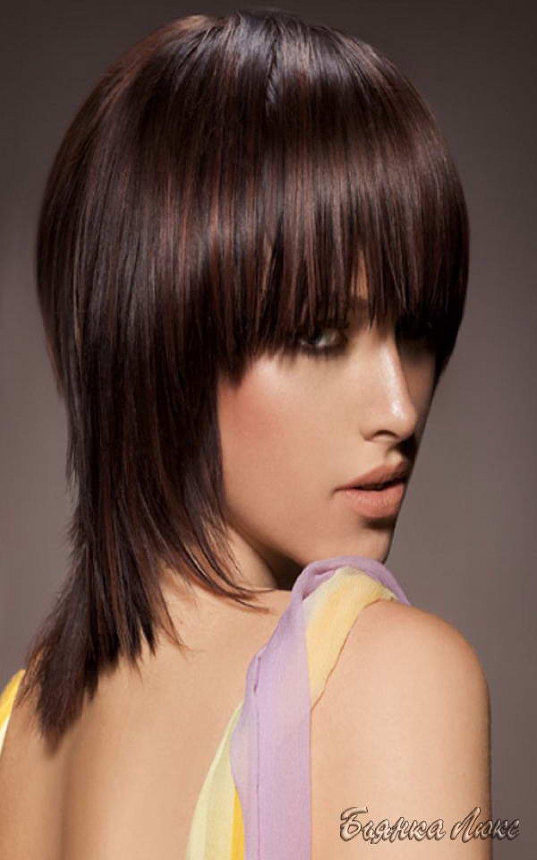 Фото женские стрижки шапочка на средние волосы 93