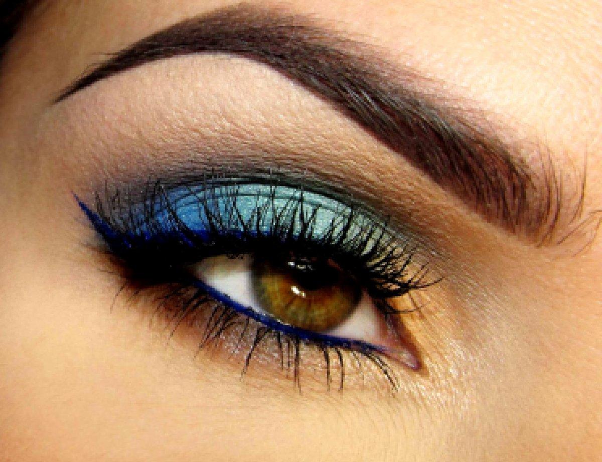 Макияж для карих глаз в серых тонах пошаговое