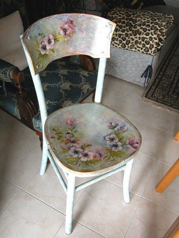 Декупаж венские стулья 74