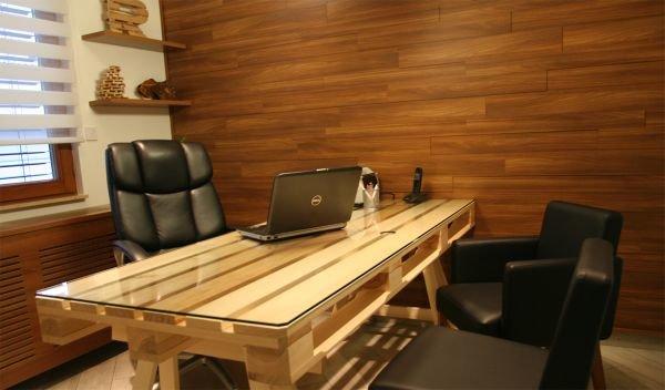 Сделать офисный стол своими руками 56