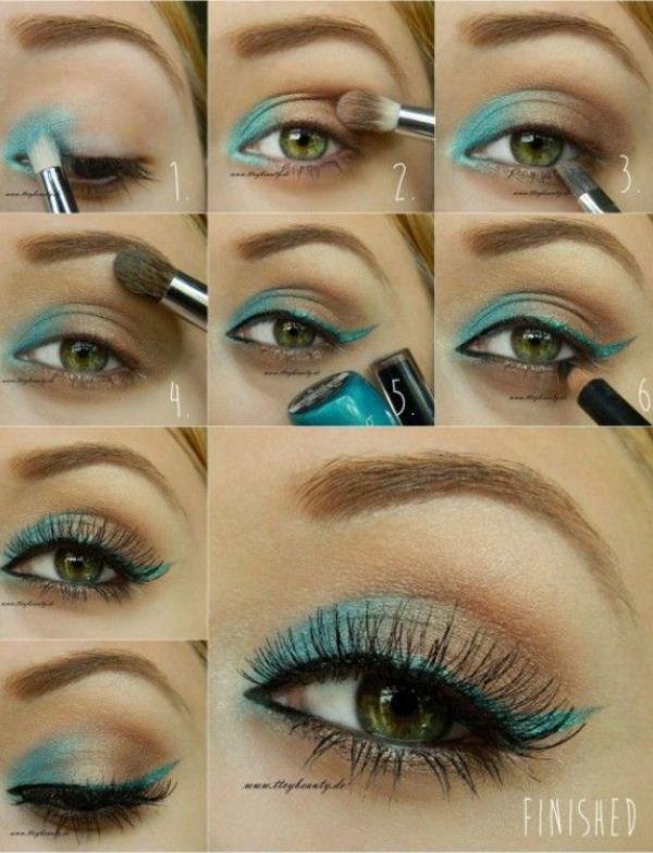 Как сделать красивый макияж для зеленых глаз