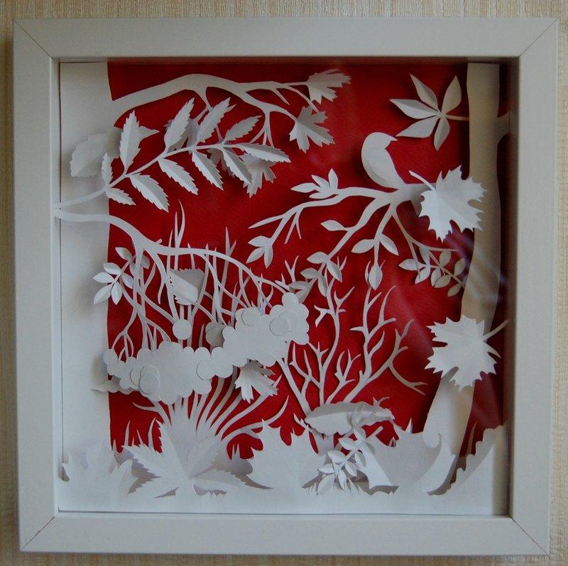 Объемные картины из бумаги своими руками схемы шаблоны пошагово