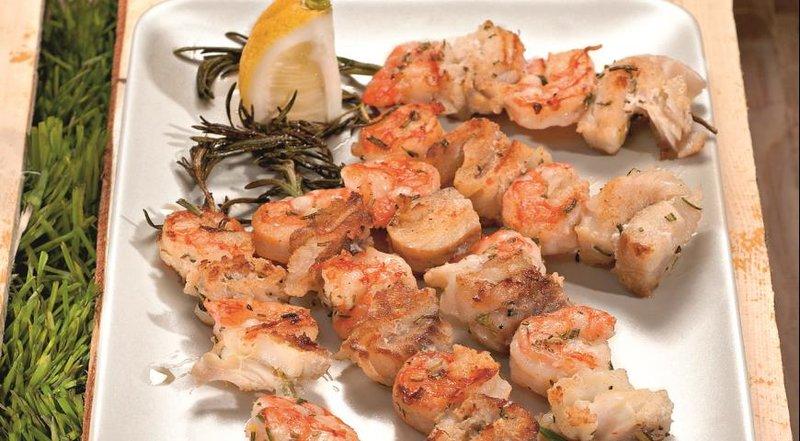 Шашлык из рыбы на мангале рецепт с пошагово в