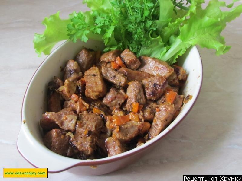 Гуляш венгерский классический рецепт с пошагово