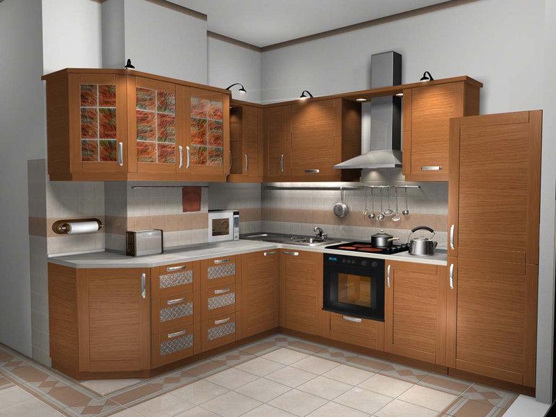 Дизайн встроенных кухонь