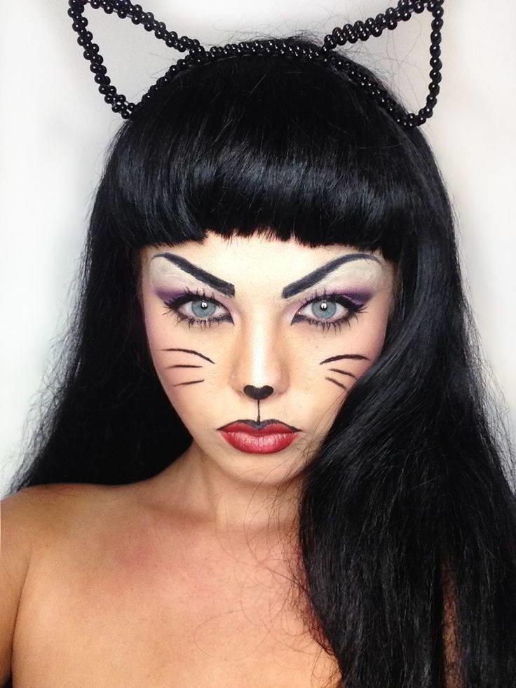 Кошки макияж