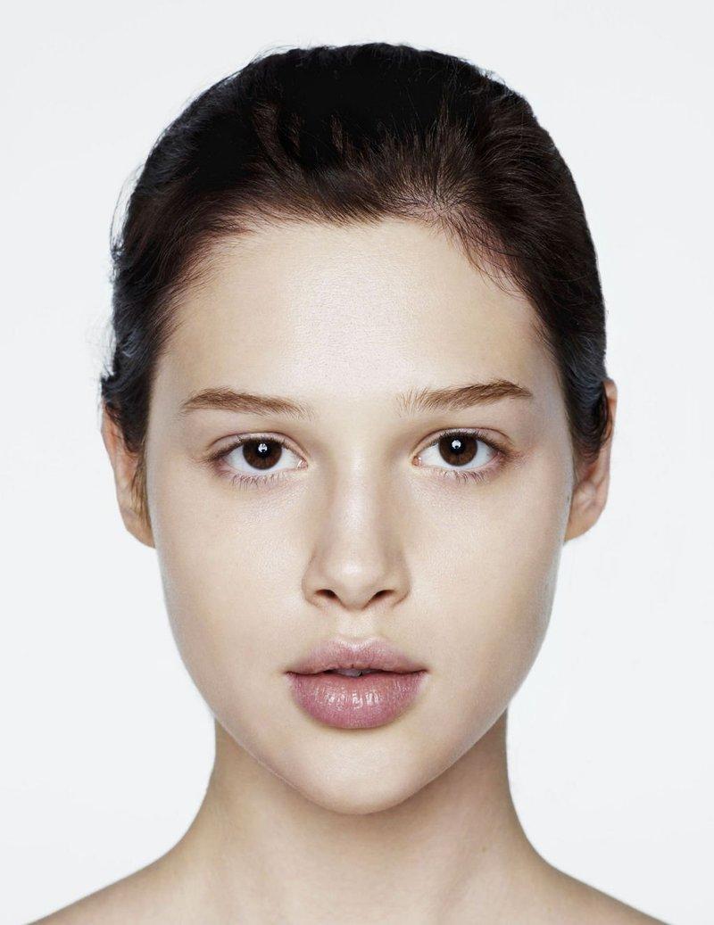 Лицо без в макияже