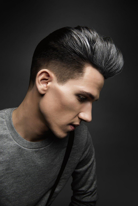 Мужские прически с покрашенными волосами