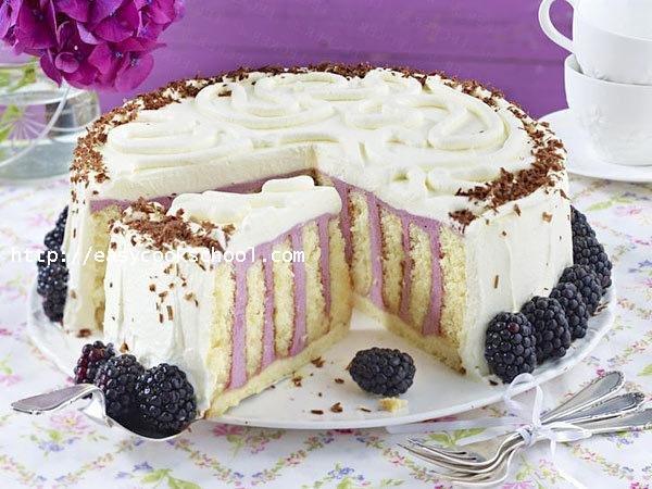 Как из рулетов сделать торт