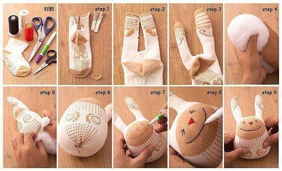 Как сделать из своими руками игрушку