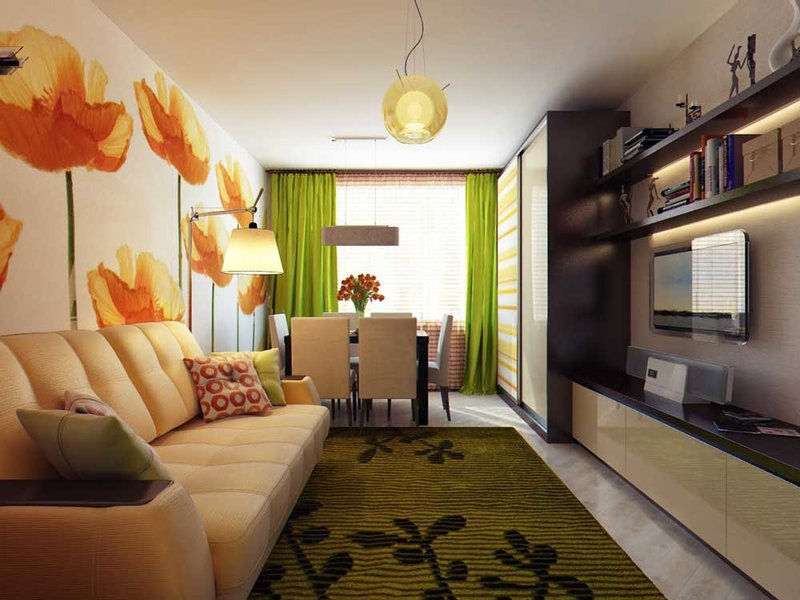 Дизайн комнат в россии и