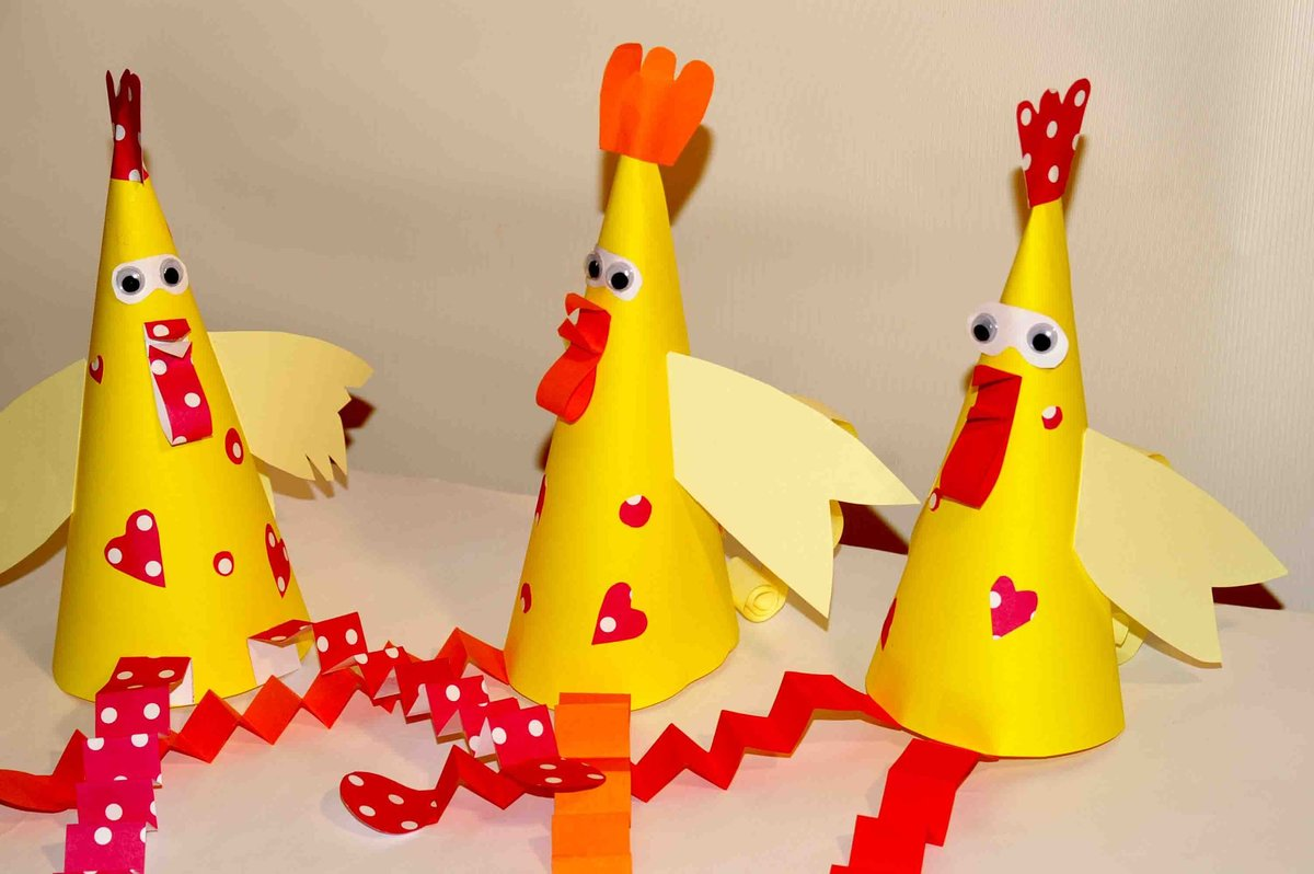 Поделка петух на новый год: 10 способов сделать петушка своими