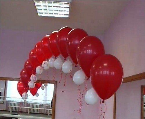 Арка из воздушных шаров своими руками без гелия 146