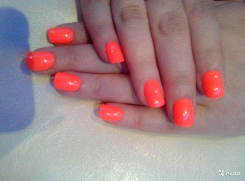 Гелевое покрытие ногтей на короткие ногти дизайн
