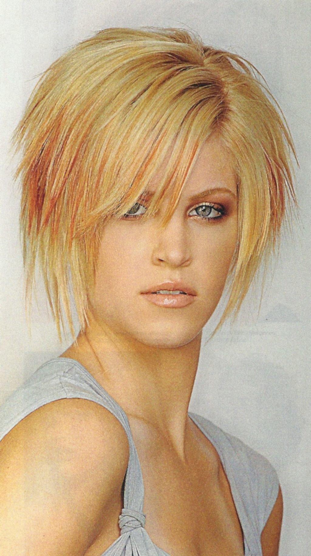 Стрижка рванка на короткие волосы фото