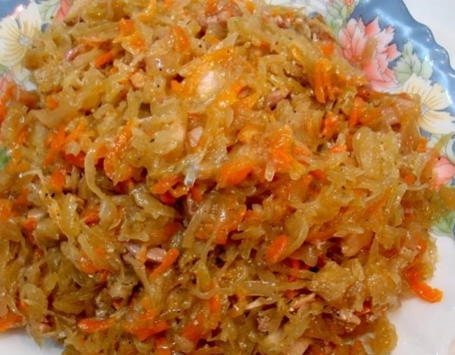 Пирожки с кислой капустой жареные на сковороде рецепт на скорую руку