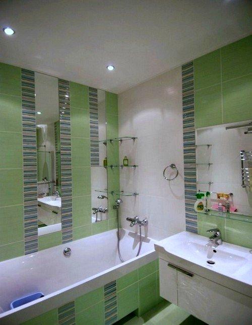 Ремонт ванной комнаты 4 квм без туалета