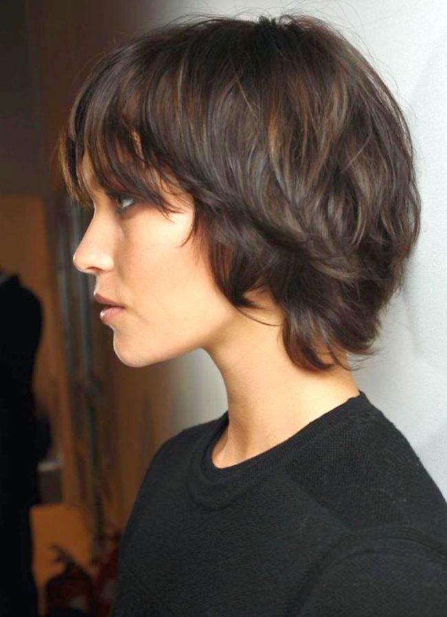 Прически для отросших волос