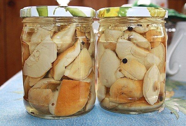 Белый гриб маринование рецепт с фото пошагово