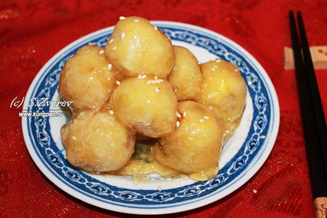 Бананы в карамели по китайски рецепт с пошагово